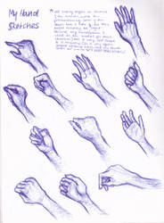 my hand sketches