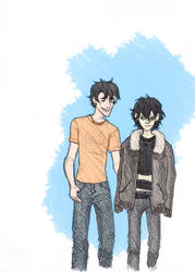 Percy and Nico