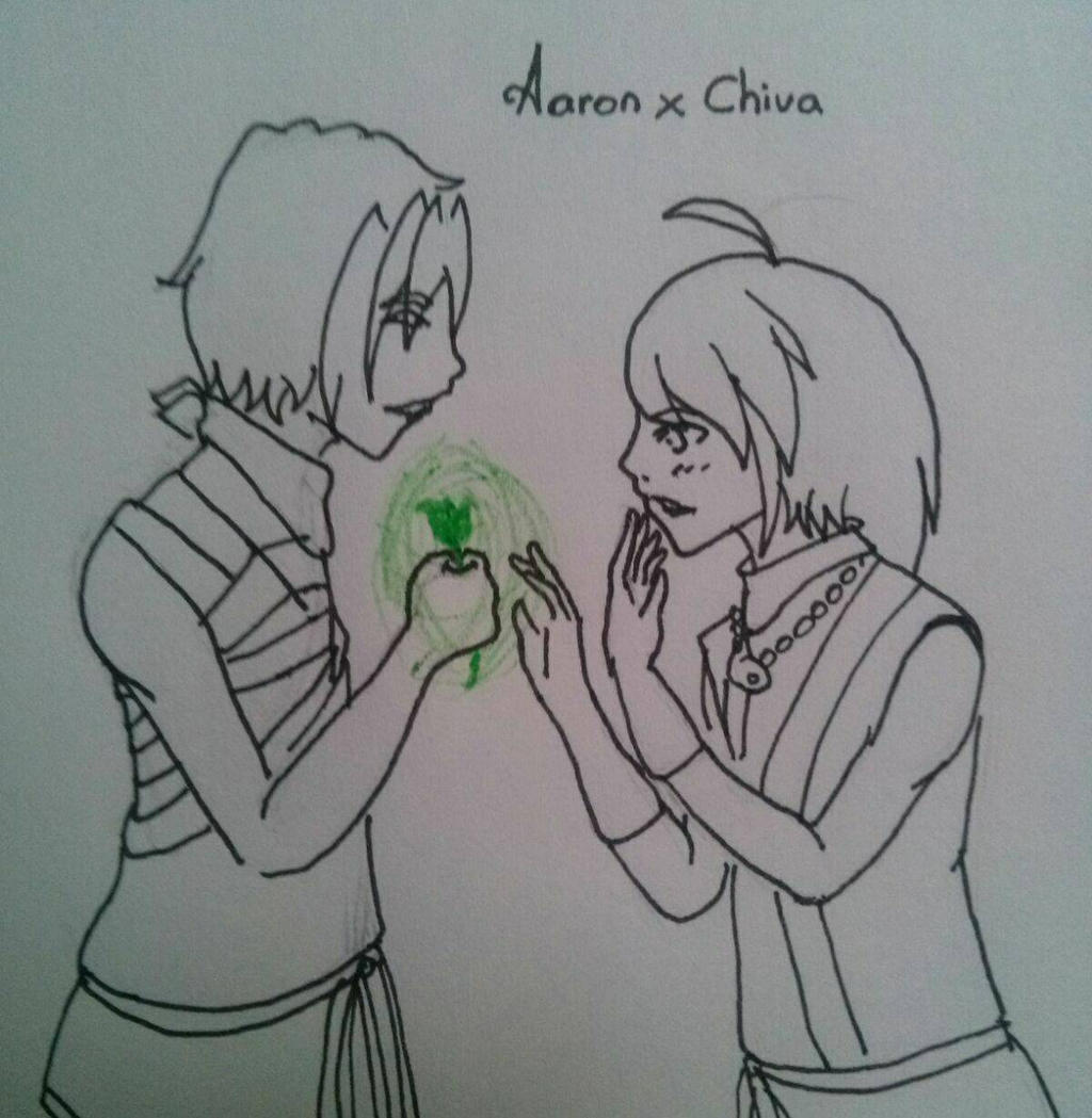 Aaron x Chiva #1 by kuroiphanthom