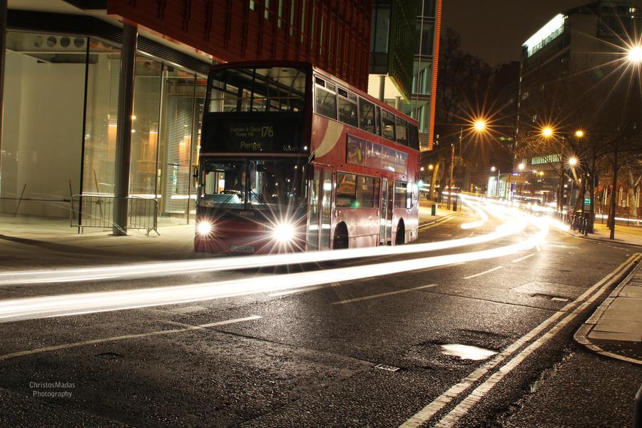 Midnight in London by christosmadas