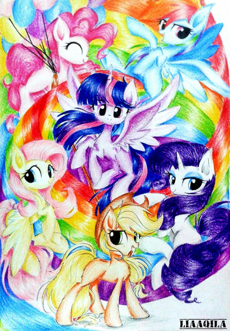 Let The Rainbow Remind You... by LiaAqila