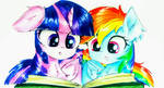 Reading Buddies by LiaAqila