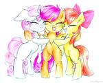 Comm: Cutie Hug