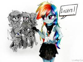 Losers! by LiaAqila