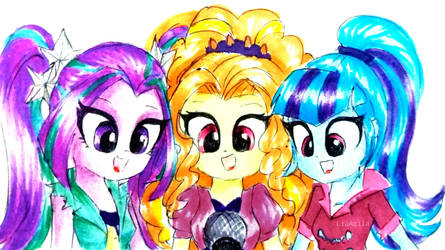 The Dazzlings! by LiaAqila