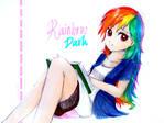 Humanified Rainbow Dash