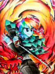 Demon Slayer by LiaAqila