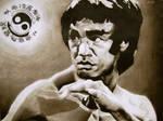 Bruce Lee by damn2good