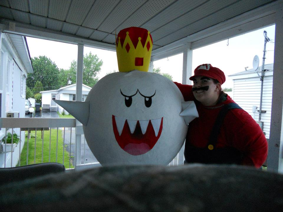 king boo and mario by eevee6969 ... & king boo and mario by eevee6969 on DeviantArt
