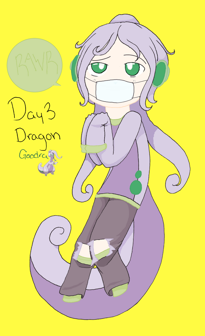 Day Three Dragon Pokeddexy by Redo3o