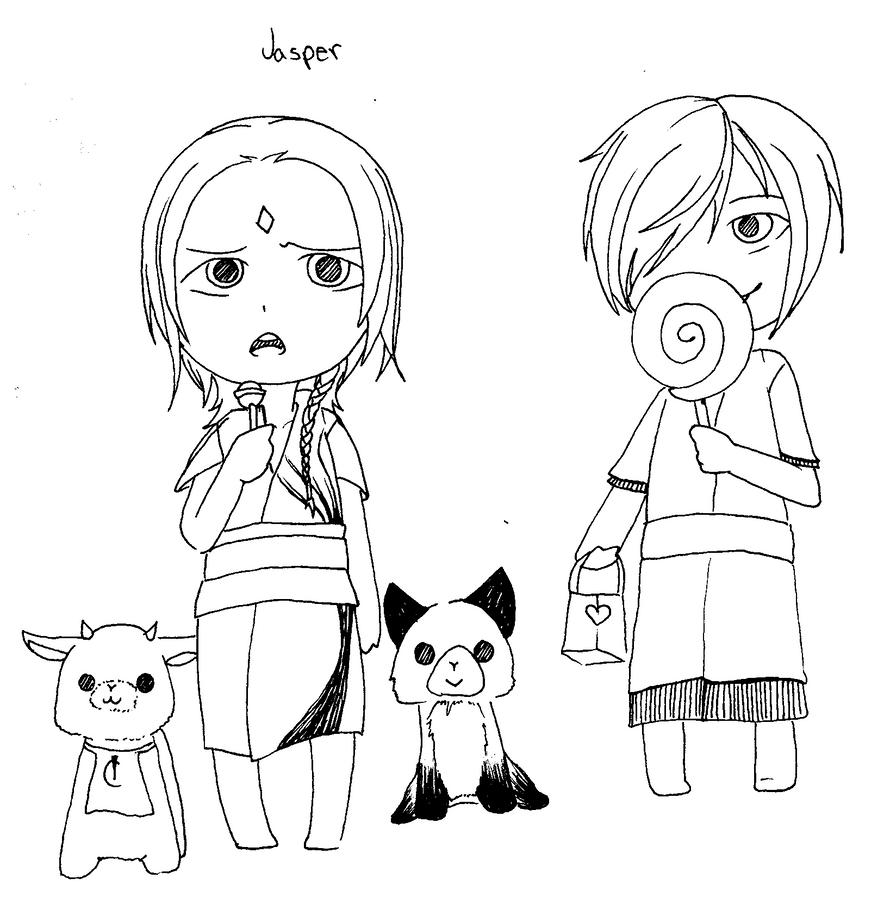 Jasper and Haer by Redo3o