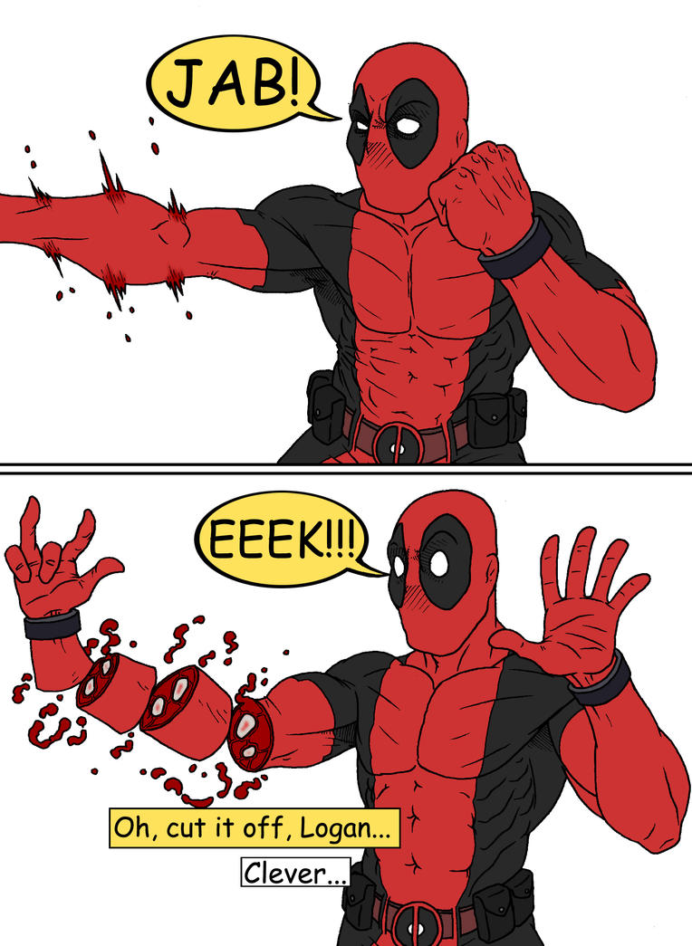 Deadpool by tomastocornal
