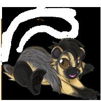 American badger maki by Kayleigh-Kaz