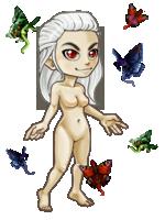 Flutter swarm by Kayleigh-Kaz