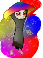 magic shroom by Kayleigh-Kaz