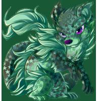 green iota by Kayleigh-Kaz