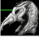 Bird helm silver by Kayleigh-Kaz