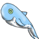 Blue whale plush by Kayleigh-Kaz