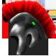 Roman helm by Kayleigh-Kaz