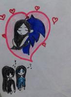 Sonic x Jane amor