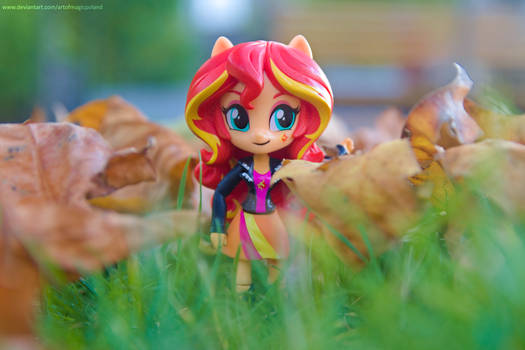 SUNSET SHIMMER DAY by ArtOfMagicPoland