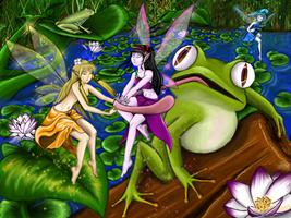 Fairy hunter II by Ciberfriky