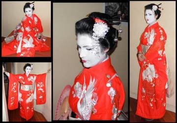 Geisha cosplay by Ciberfriky