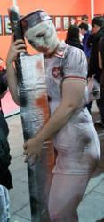 Silent Hill Nurse Cosplay by Ciberfriky