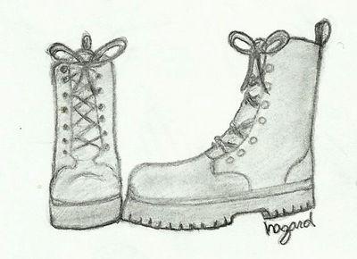 Combat boots Sketch