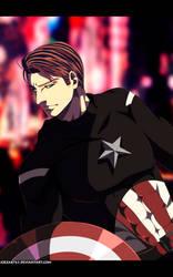 The first avenger! by JoeZart63