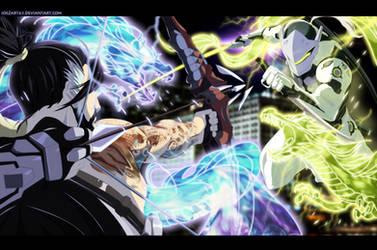 Dragons - Hanzo vs Genji!