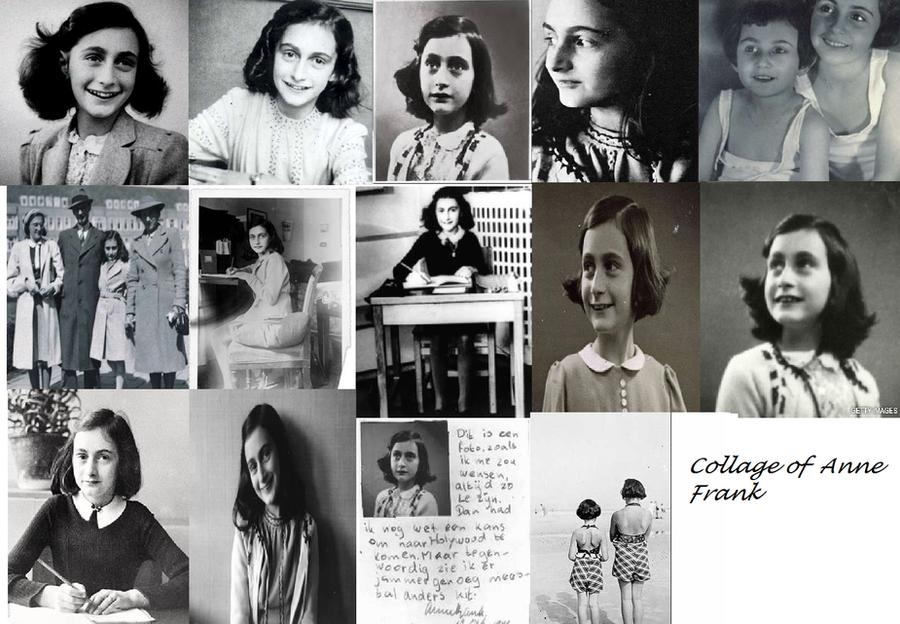 Anne Frank Collage by HellGirlTsubasaFan
