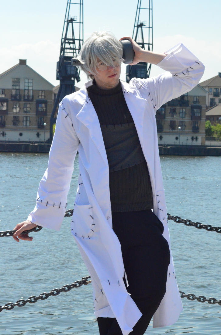 Dr. Stein Cosplay by alinthea