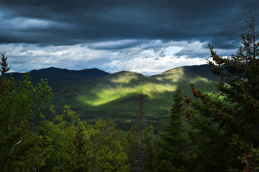 Shadows on the High Peaks