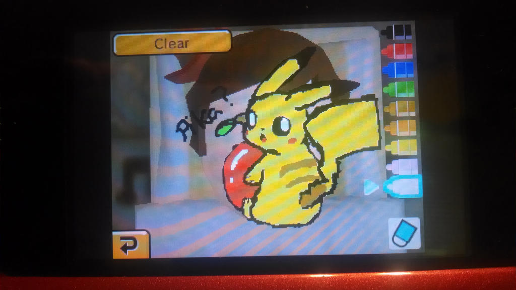 Fun with Tomodachi life: PikaRoss by Bloody-Uragiri