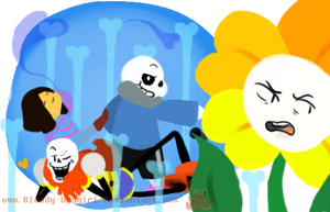 Draw the squad Undertale by Bloody-Uragiri