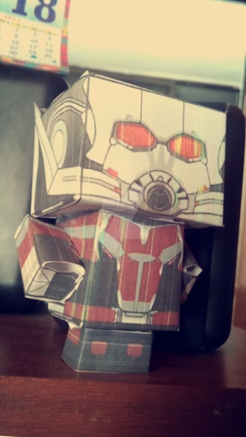 Cubee Antman for Captain America Civil War by Alucard4