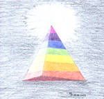 Rainbow Pyramid by MichaFire