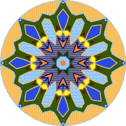 Mandala version3 by MichaFire