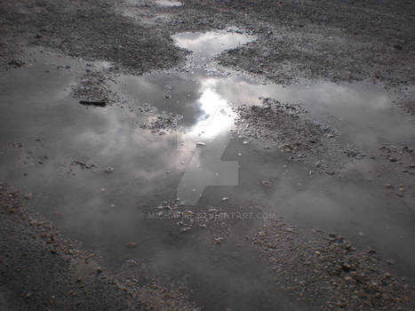 Puddle and Sky