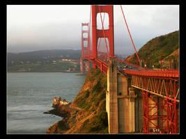 Golden Gate Bridge by dennisjunior