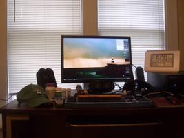 My Actual Desk - 1