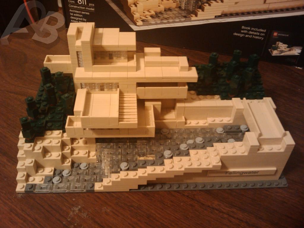 Falling Water Lego