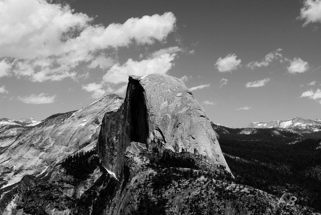 Half Dome in Yosemite.
