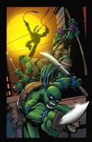 Teenage Mutant Ninja Turtles by JeffieB