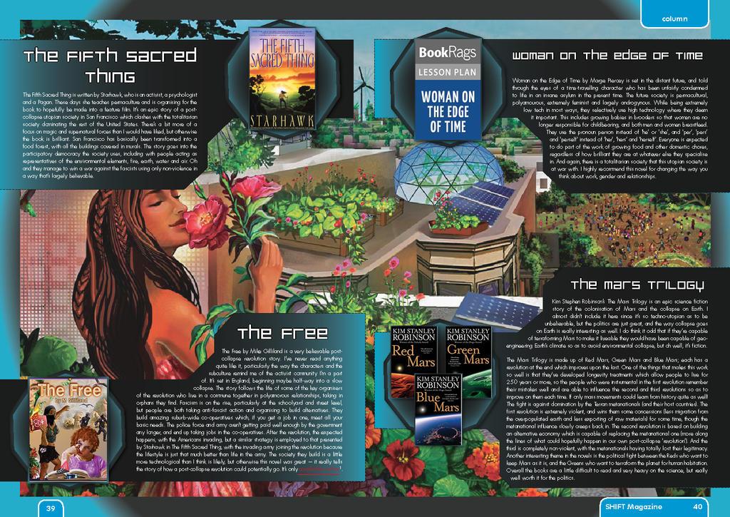 SHIFT magazine #4 - Please Read Utopian Fiction(2) by artsfantasy