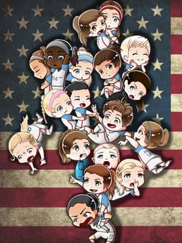 US Women's National Team- Rio Olympics 2016