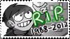 Edd R.I.P. stamp