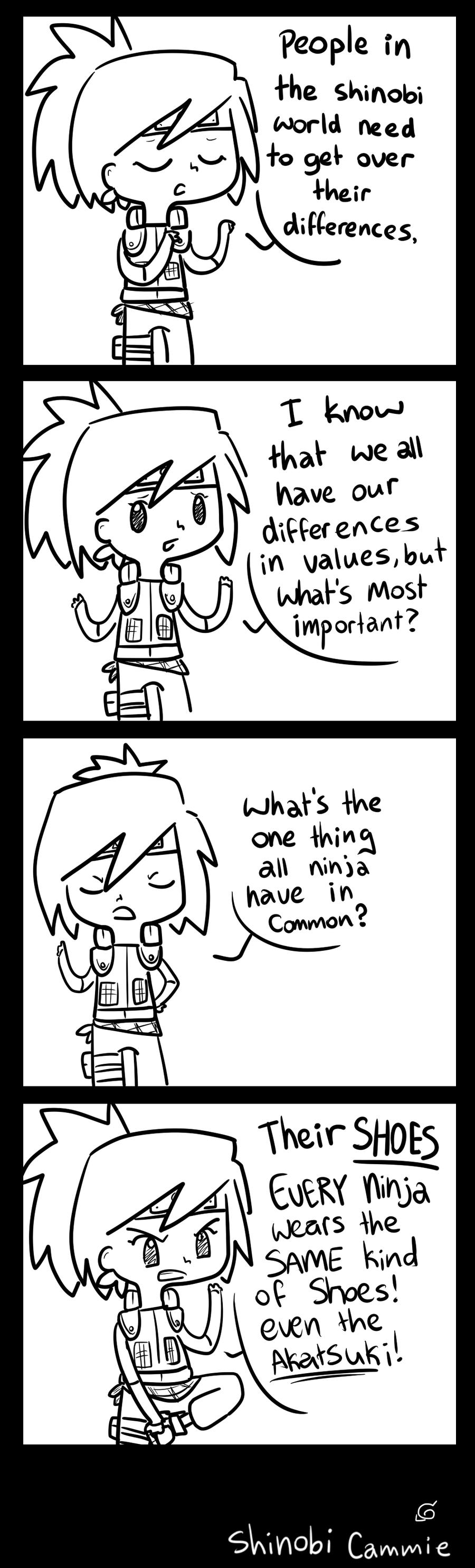 Shinobi problems by Caramelcat123