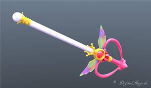 Sailor Moon Kaleido Moon Scope 3D Testrendering